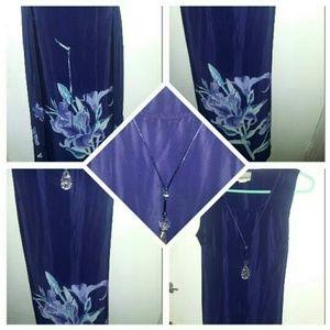 Dress Light weight cool lavender Women's dress